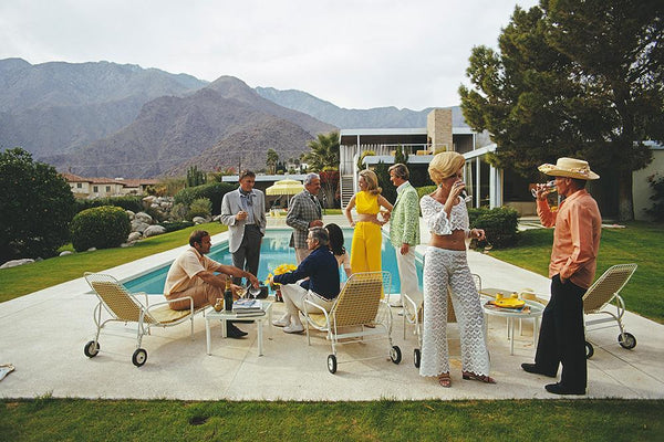 Desert House Party by Slim Aarons - FINEPRINT co