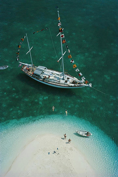 Exuma Holiday by Slim Aarons - FINEPRINT co