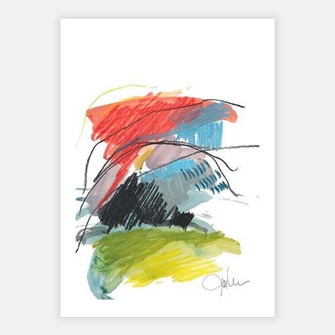 Abstract Landscape No. 10 by POD EXCHANGE - FINEPRINT co