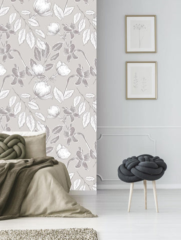 Dogwood and Daffodil by FINEPRINT co - FINEPRINT co