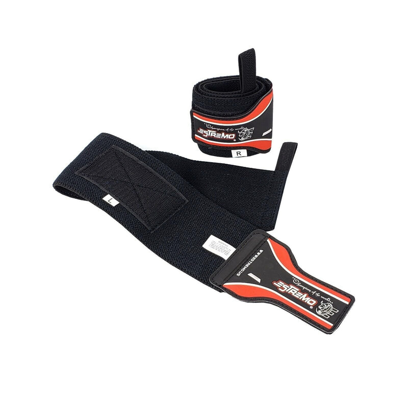 Wrist Wraps - Red - Estremo Fitness