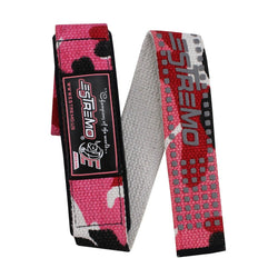 Bar Lifting Straps Camouflage Pink - Estremo Fitness
