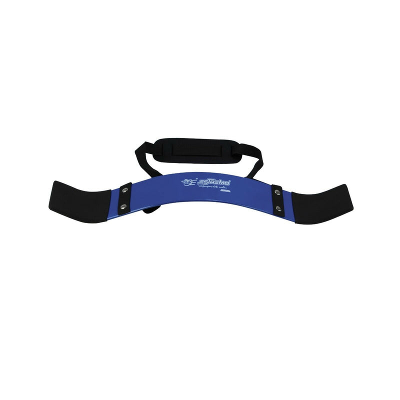 Arm Blaster for Bicep Curls - Blue - Estremo Fitness