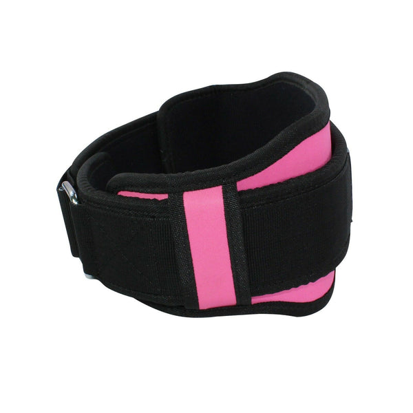 Weightlifting Double Belt - Pink - Estremo Fitness