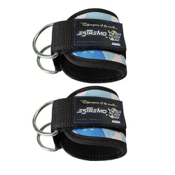 Ankle Straps for Cable Machine - Blue Camouflage - Estremo Fitness