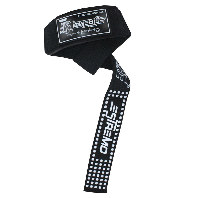 Bar Lifting Straps - Black - Estremo Fitness