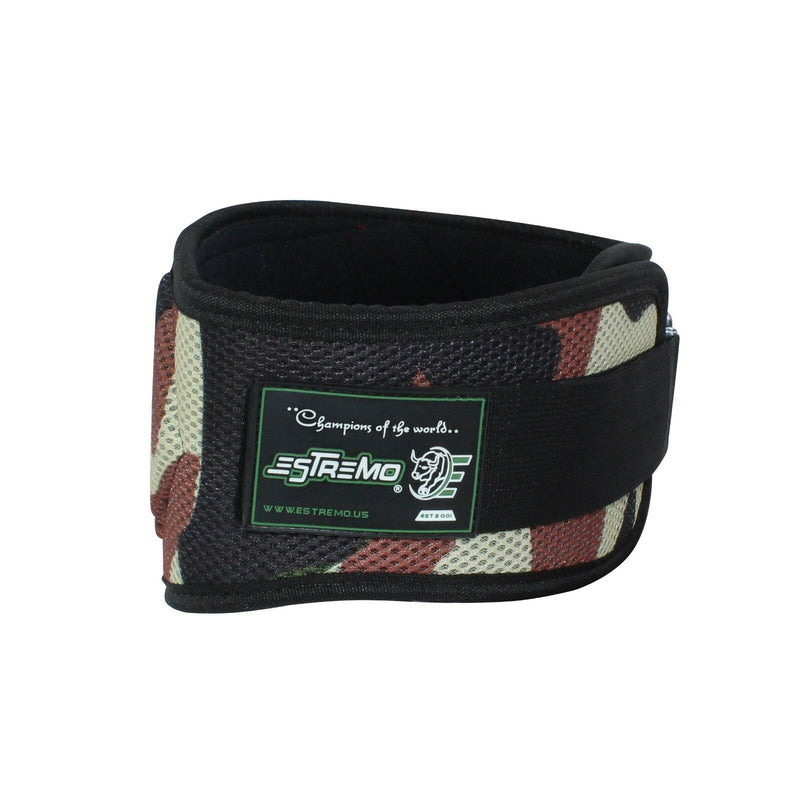 "Weightlifting Belt 6"" Neoprene - Camouflage - Estremo Fitness"