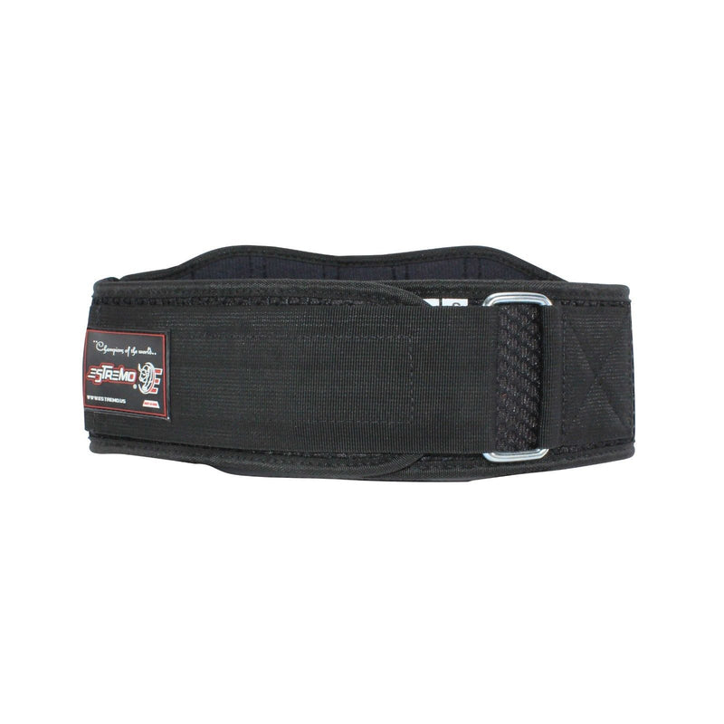 "Weightlifting Belt 8"" Neoprene - Black - Estremo Fitness"