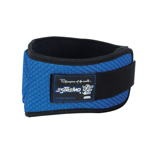 "Weightlifting Belt 6"" Neoprene - Blue - Estremo Fitness"