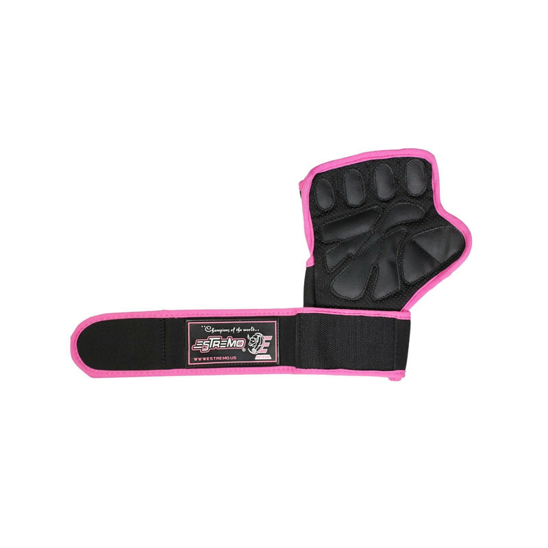 Weightlifting Gloves - Pink - Estremo Fitness