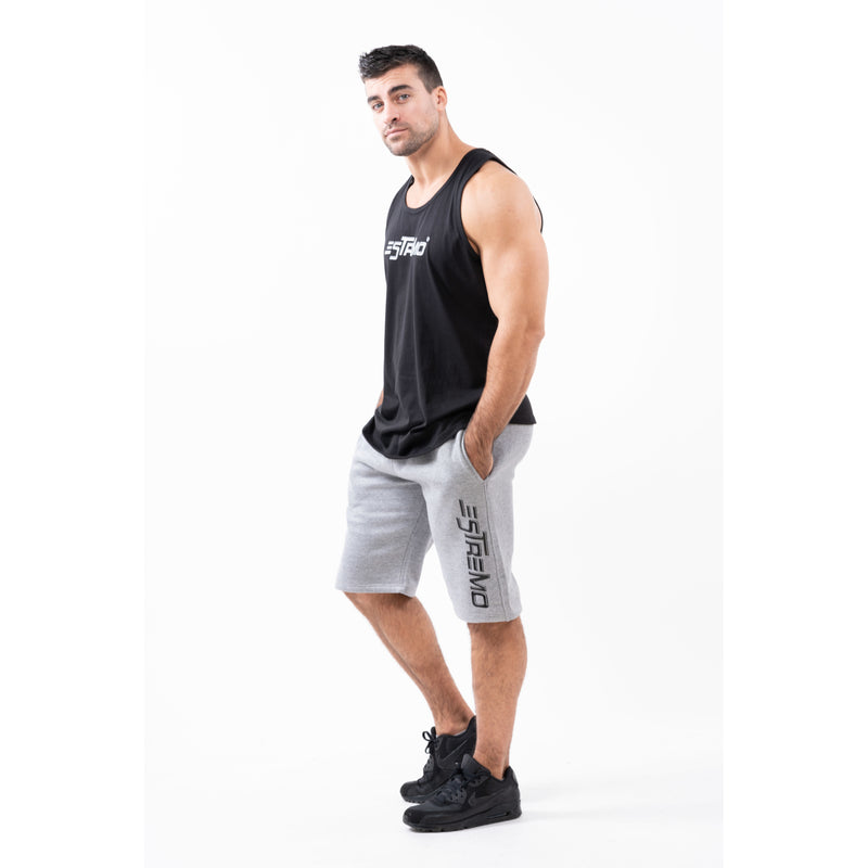 Estremo Fitness Flex-Knit Scoop Neck Stringer Vests - Black - Estremo Fitness