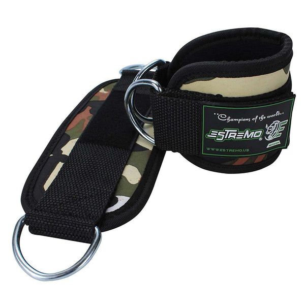 Ankle Straps for Cable Machine - Camouflage - Estremo Fitness