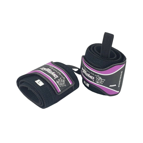 Wrist Wraps - Purple - Estremo Fitness