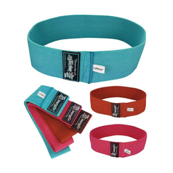 Non-Slip Hip Exercise Resistance Bands - 3 Colors - Estremo Fitness