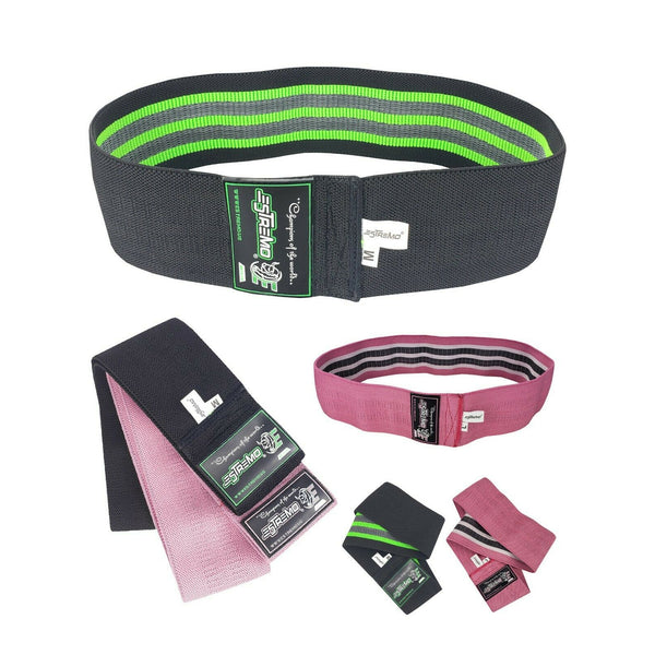 Non-Slip Hip Exercise Resistance Bands - 2 Colors - Estremo Fitness