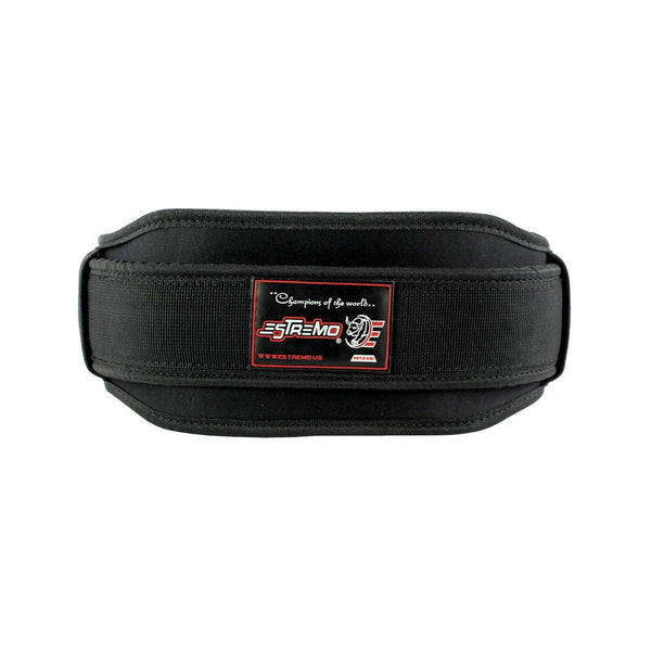 Weightlifting Double Belt - Black - Estremo Fitness