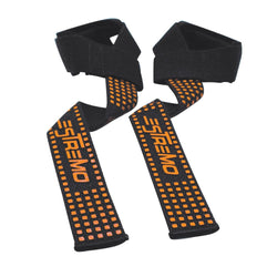 Bar Lifting Straps Orange - Estremo Fitness