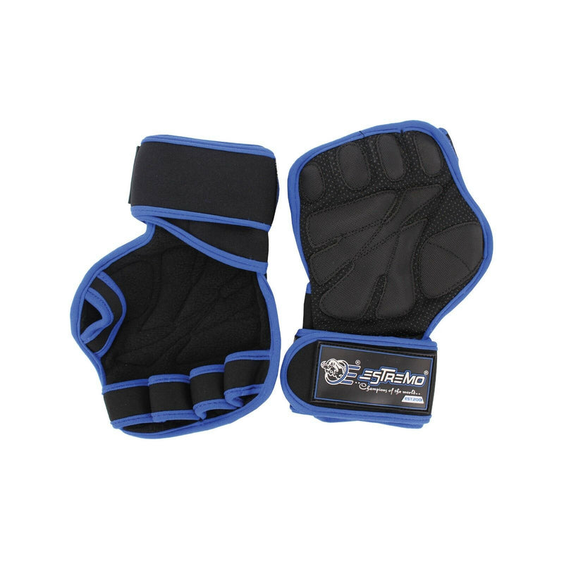 Weightlifting Gloves - Blue - Estremo Fitness