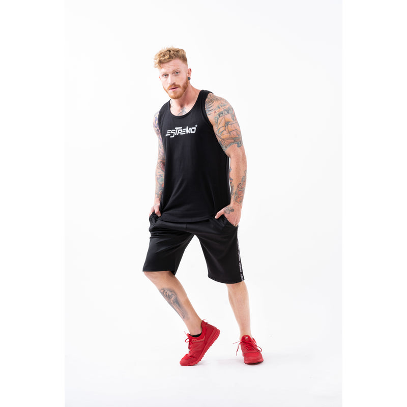 Estremo Fitness Flex-Knit Premium Shorts - Black - Estremo Fitness