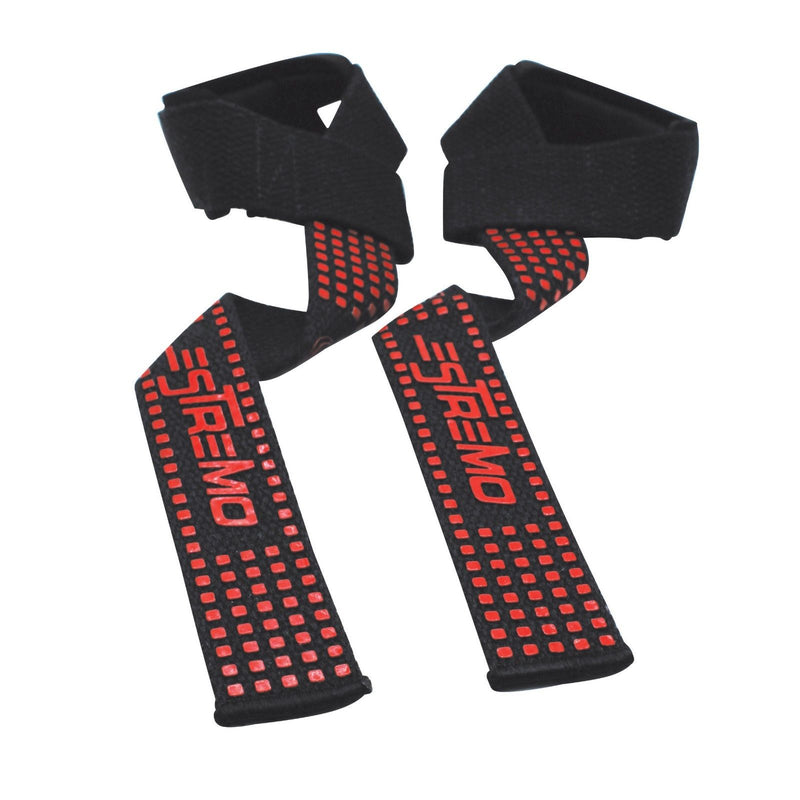 Bar Lifting Straps Red - Estremo Fitness