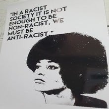 Load image into Gallery viewer, Angela Davis Quote and Portrait Print
