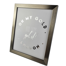 Load image into Gallery viewer, Silver Metallic Frame