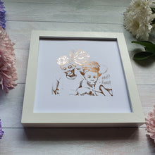 Load image into Gallery viewer, Personalised Portrait Print (3- 4 People)
