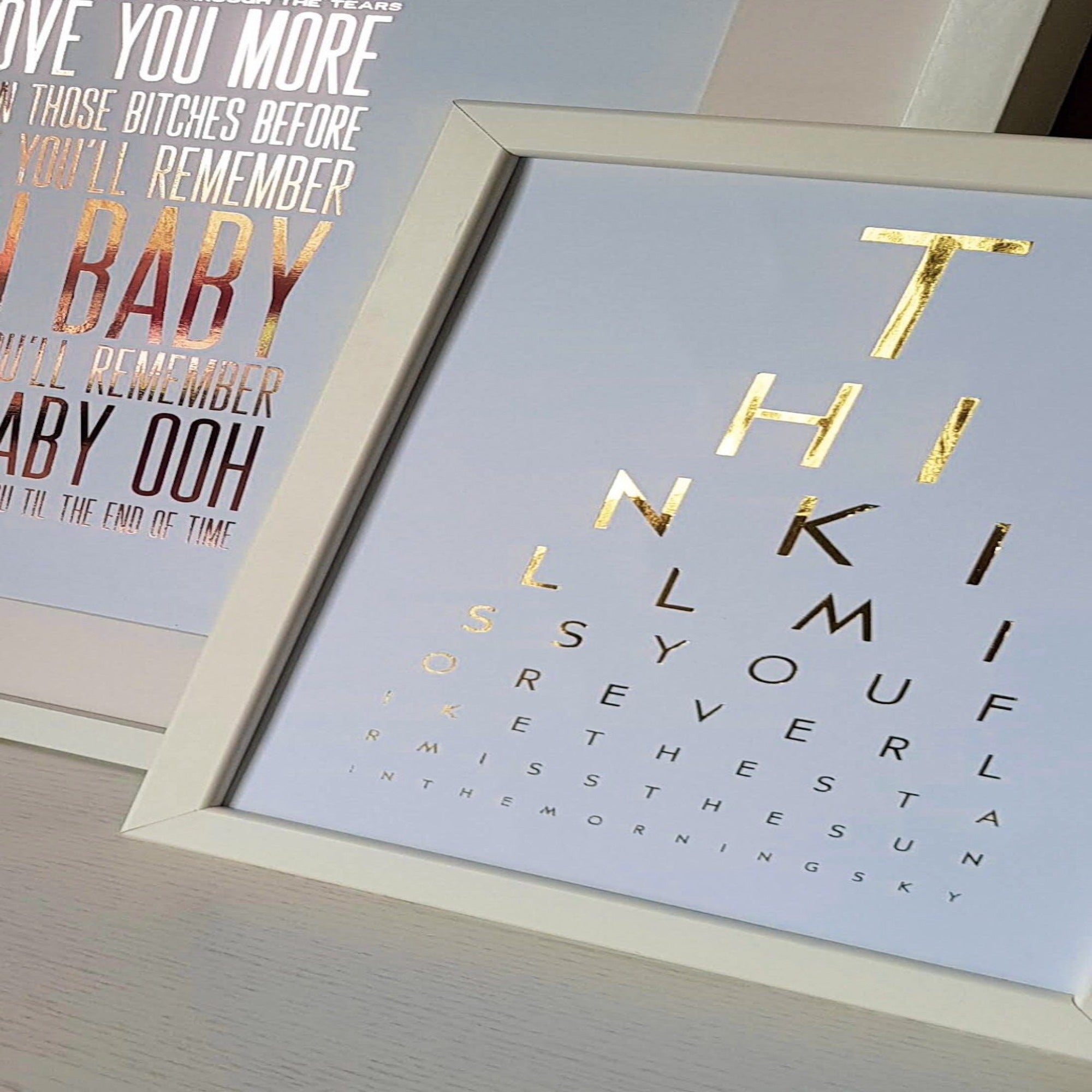 Create Your Own Eye Test Print
