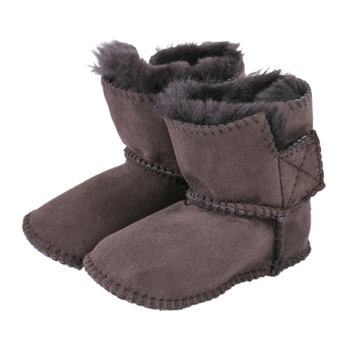 Harper Baby Ugg Boots - Chocolate