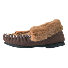 Load image into Gallery viewer, Emerson Kangaroo Moccasins - Chestnut
