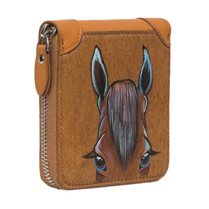 Chestnut Pony Coin Purse
