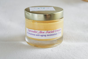 Lavender Aloe Facial Cream