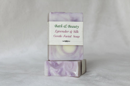 Lavender and Silk Gentle Facial Soap