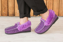 Load image into Gallery viewer, Taylor Moccasins - Purple
