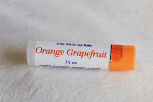 Orange Grapefruit Shea Butter Lip Balm