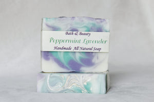 Peppermint Lavender Handmade Soap