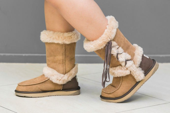 Riley Ugg Boots - Chestnut