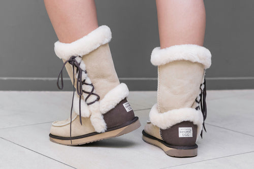 Riley Ugg Boots - Sand