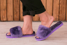 Load image into Gallery viewer, Sage Slippers - Purple