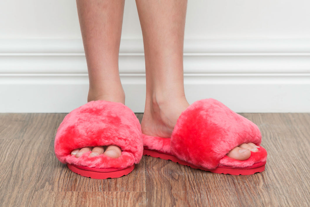 Sage Slippers - Watermelon