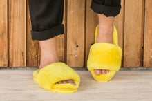 Load image into Gallery viewer, Sage Slippers - Lemon