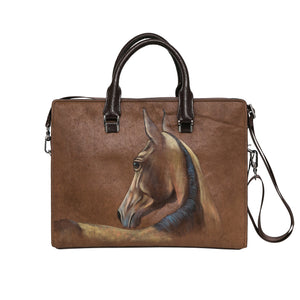 Pony Satchel - Walnut