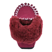 Load image into Gallery viewer, Parker Moccasins - Burgundy