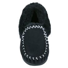 Load image into Gallery viewer, Taylor Moccasins (kids) - Black