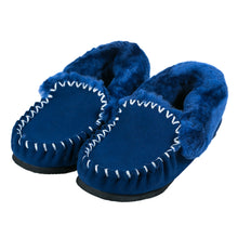 Load image into Gallery viewer, Taylor Moccasins (kids) - Navy Blue
