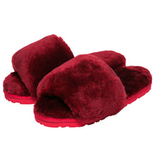 Load image into Gallery viewer, Sage Slippers - Burgundy
