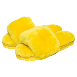 Sage Slippers - Lemon