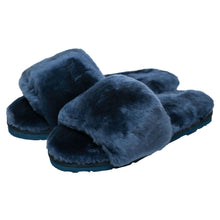 Load image into Gallery viewer, Sage Slippers - Midnight
