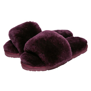 Sage Slippers - Mulberry