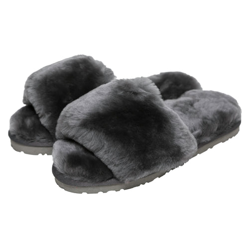 Sage Slippers - Charcoal